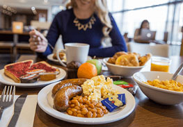 Edinburgh Holiday Inn Express Breakfast