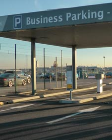 Business parking at Heathrow airport