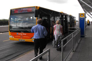 Official Long-Stay Stansted transfer bus