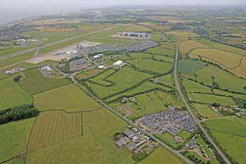 Cardiff Airport Staff Car Park