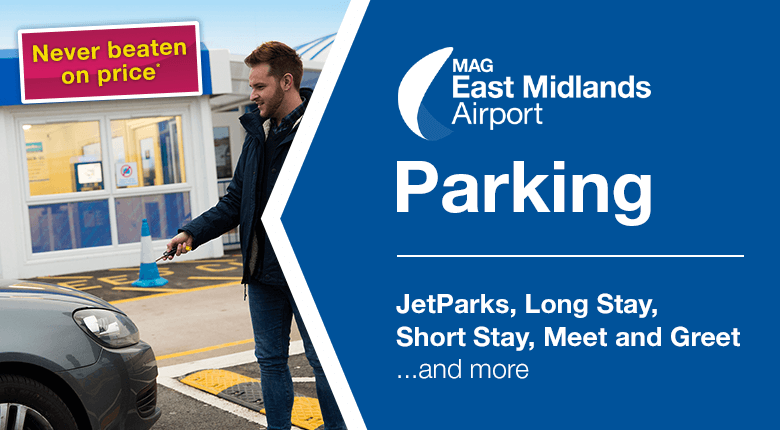 East midlands airport parking from only 575 per day best price guarantee m4hsunfo