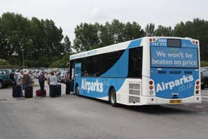 Airparks East Midlands Transfer Bus