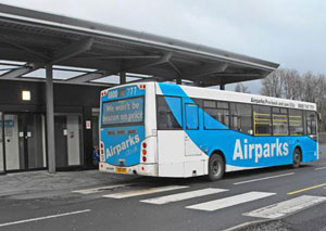 Airparks Glasgow transfer bus