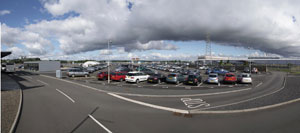 Airparks Glasgow panoramic view