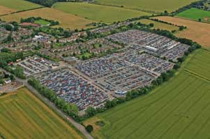 Luton Airparks Aerial Photo