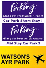 prestwick airport parking options