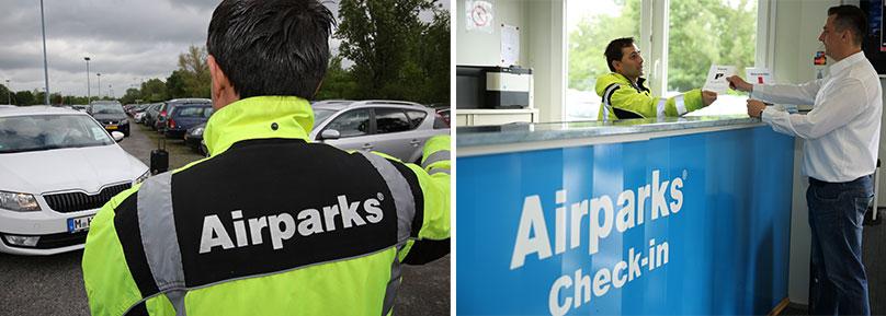 Freundliche Mitarbeiter bei Airparks