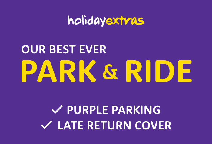 Holiday Extras Best Park & Ride by Purple Parking - all terminals