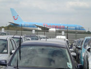Gatwick Airparks View of Plane